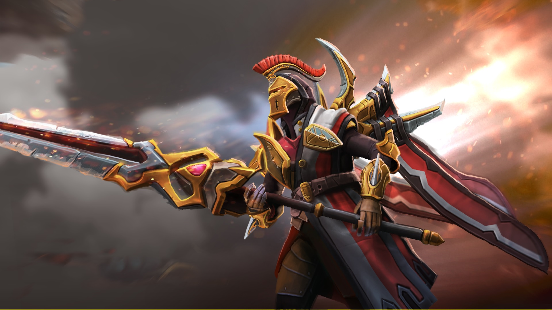 Legion Commander free wallpaper for computers