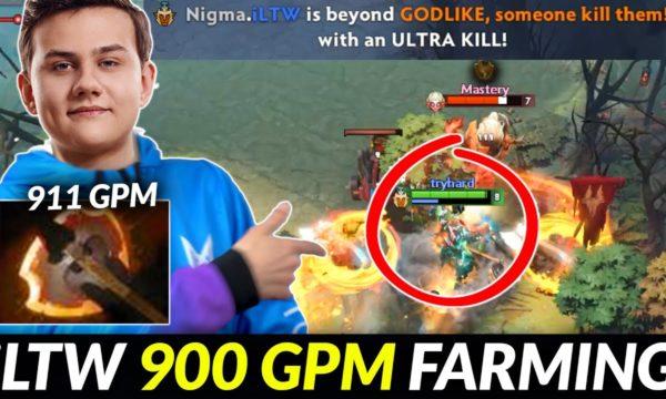 Видео Dota 2 Rapier 22.06.2021 : NIGMA.iLTW Troll Warlord — Try hard to Practicing to get a TI ticket