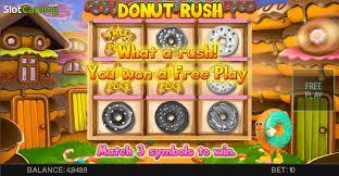 автомат Donut Rush