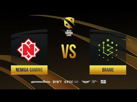 Видео Dota 2 28.09.2021 : Nemiga Gaming vs Brame, D2CL 2021 Season 4, bo3, game 1 [Jam & Smile]