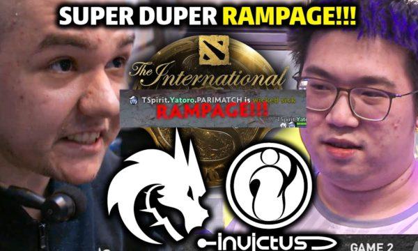 Видео Dota 2 Rapier 16.10.2021 : SPIRIT vs IG Game 2 — EPIC RAMPAGE!! TI10 MAIN EVENT DOTA 2 HIGHLIGHTS